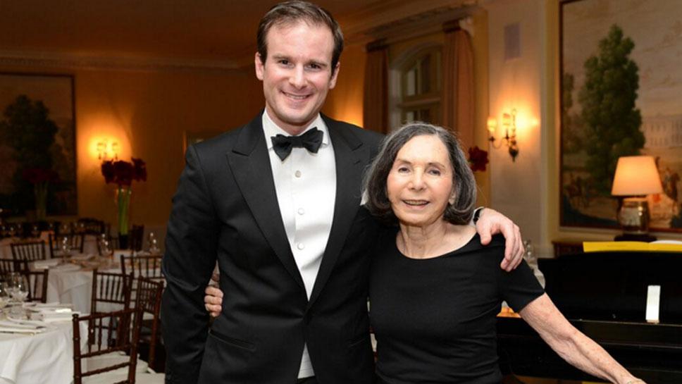 Vladimir Kulenovic, Lake Forest Symphony conductor with Nancy Berman