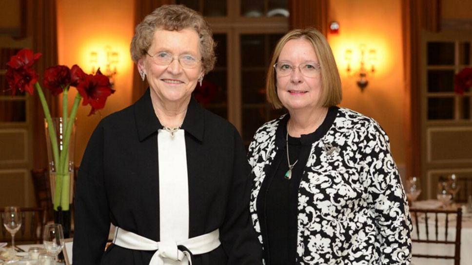 Betty Benton and Susan Somberg