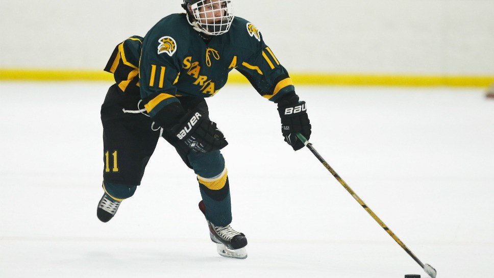 Day lights it up for GBN hockey team