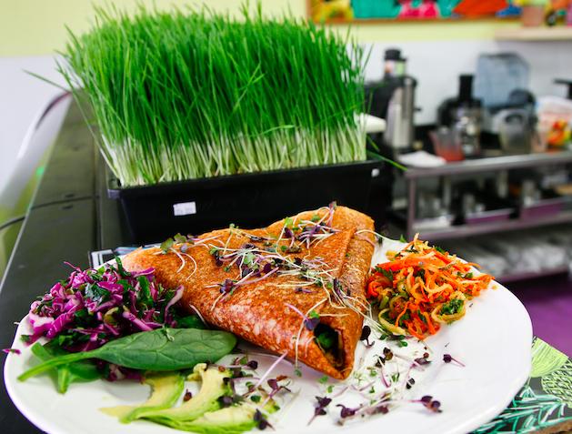 The Purple Sprout Café Provides Fantastic Vegan …