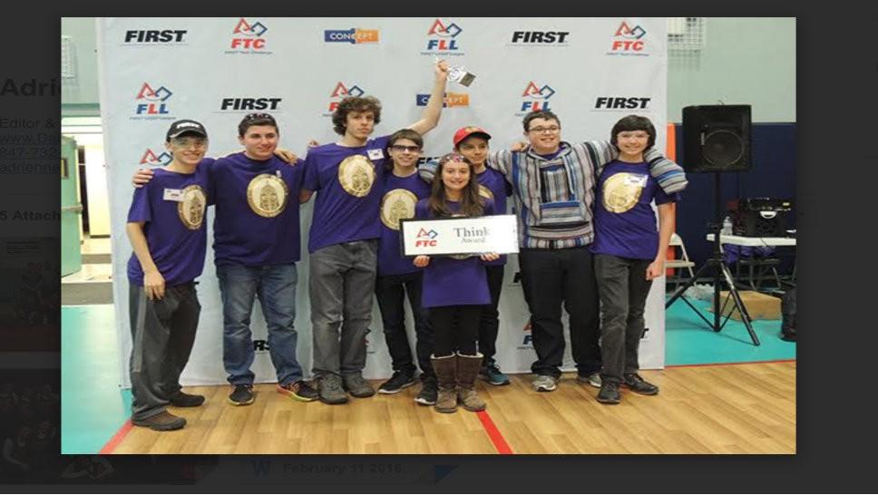 HPHS Robotics Team Qualifies for State