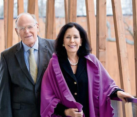Lead sponsors John D. and Alexandra C. Nichols