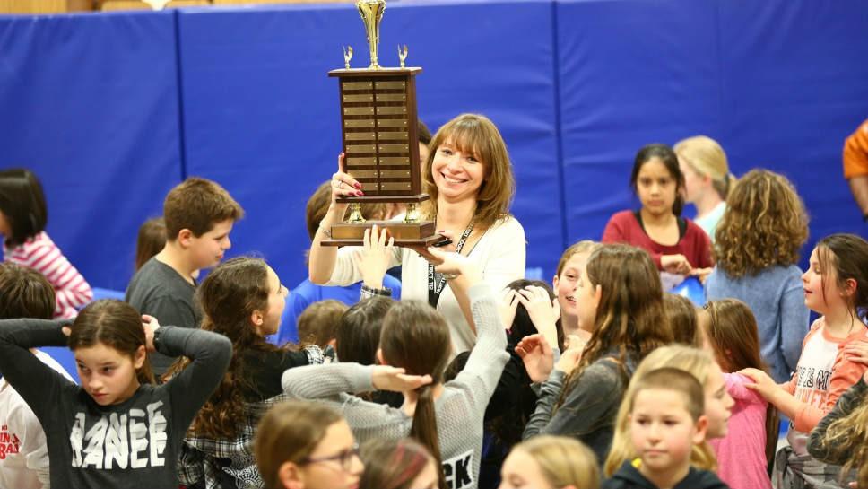 iRead Trophy Winners Honored