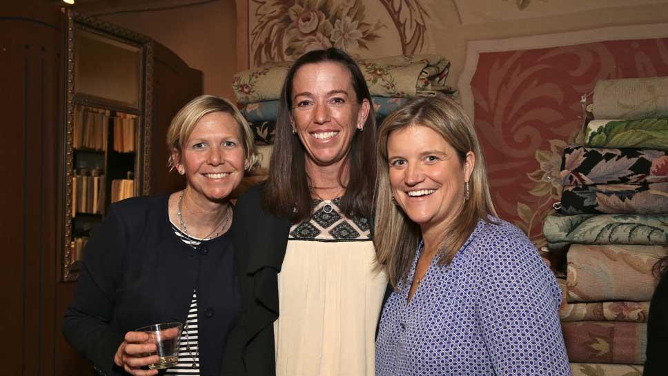 Kellie Cunningham, Liz Hayward, Wendy Sawtell