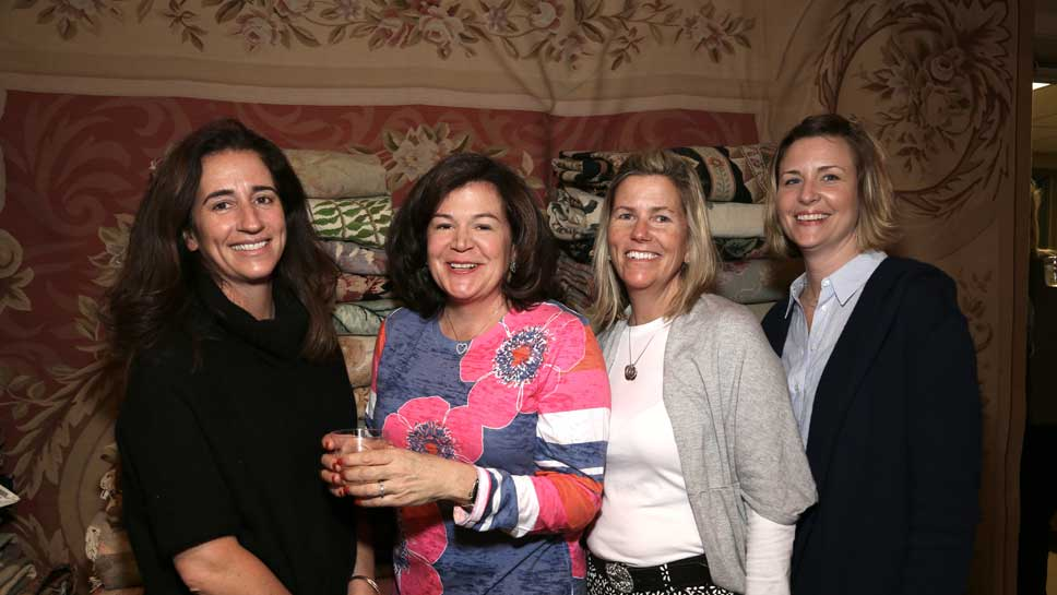 Georgeann Shenton, Kate Bowyer, Justine Fowler, Jeanne Welch