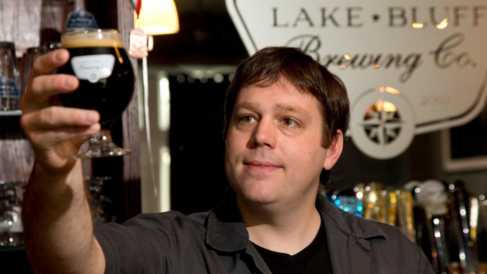 Lake Bluff Brewing Taps Five