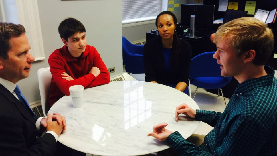 LFHS Students Design Award Winning App