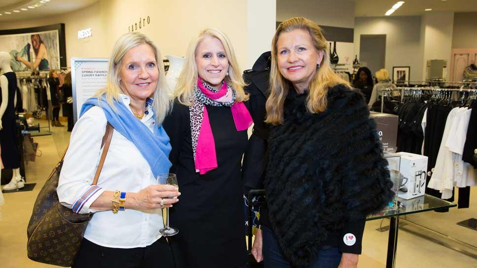 Mary Beth Schirmang, Mary Cooper, Rita Lashmet