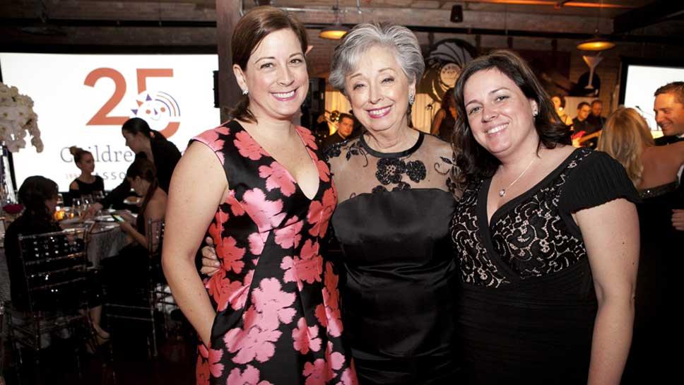 Kelly Schueler, Doris Christopher, Julie Christopher