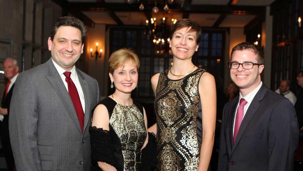 Dr. Blasé Polite, Dr. Michelle LeBeau, Dr. Megan McNerney, Dr. Mark Applebaum Photography by Nan Stein