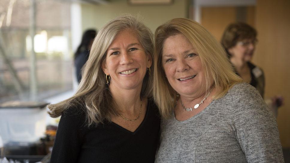 Susan White, Debbie Hulick