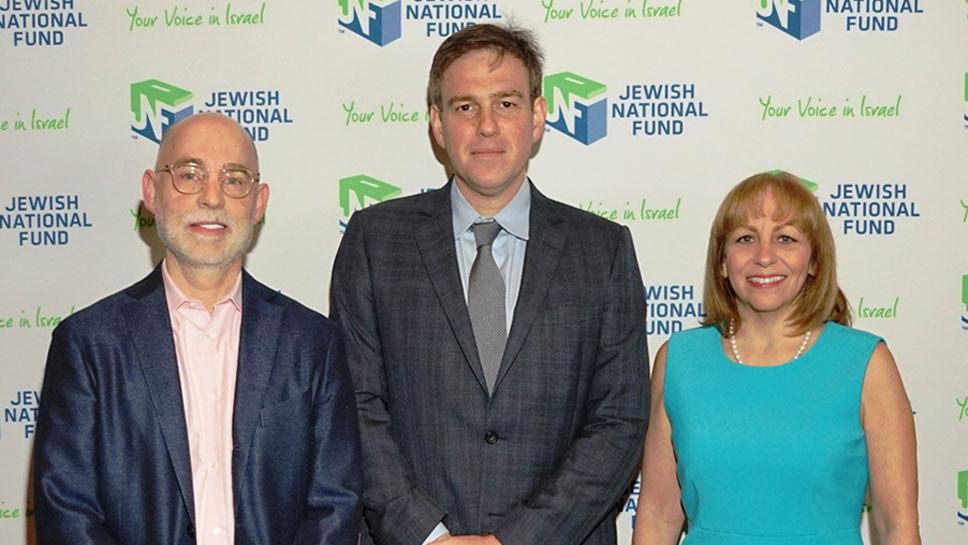 Michael Smerling, Bret Stephens, Marci Shapiro-Herzl Society