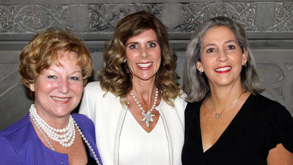 Vicky Young, Molly Fezell, Anne Merriman