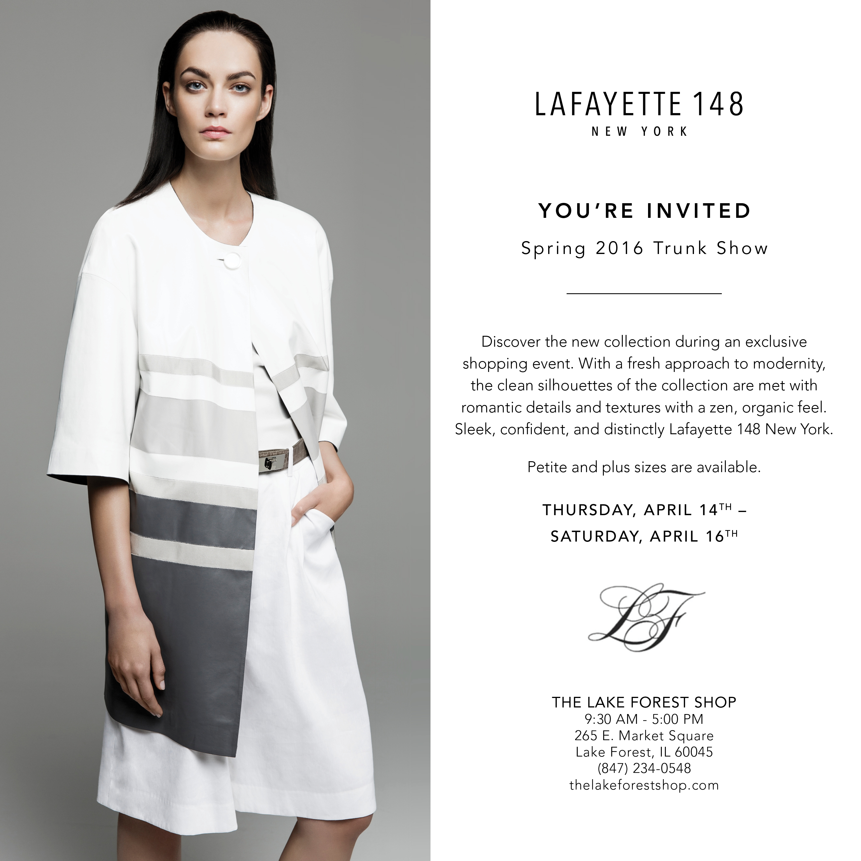 Lafayette 148 Insider's Couture Event