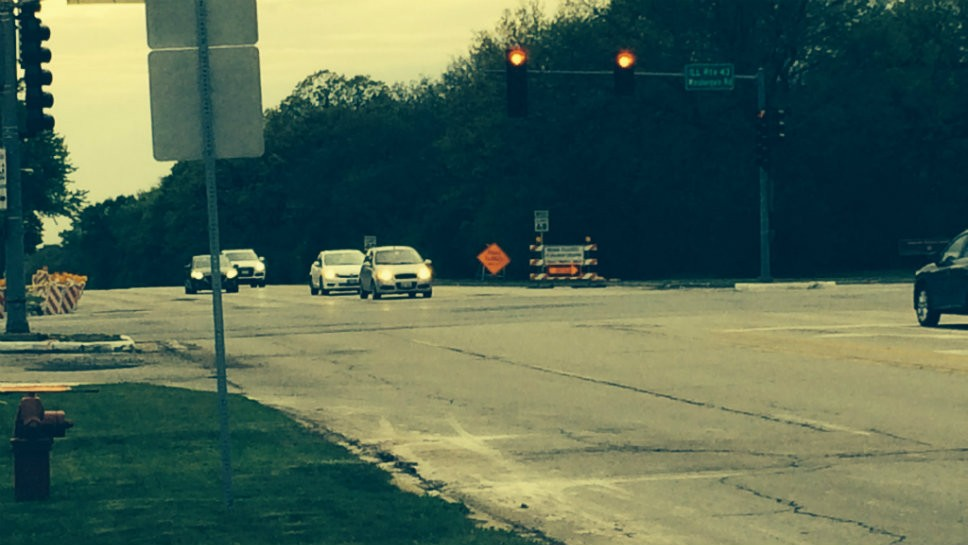 Construction will intensify on Dundee Road in Northbrook between Waukegan Road and Skokie Blvd.