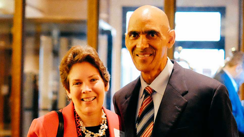 Deb Holtorf, Tony Dungy Photography by Gift of Adoption