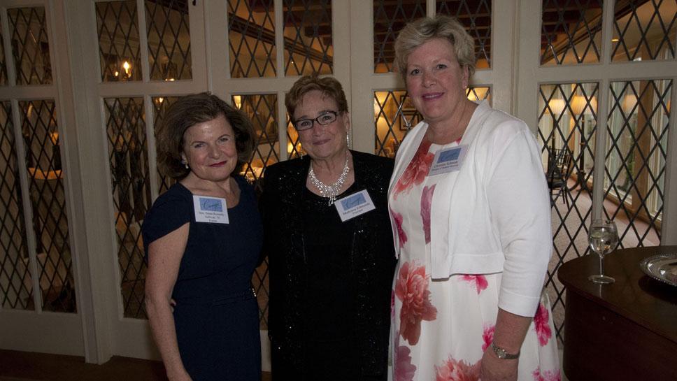 Hon. Susan Kennedy Sullivan, Madonna Edmunds, Christine Schmidt