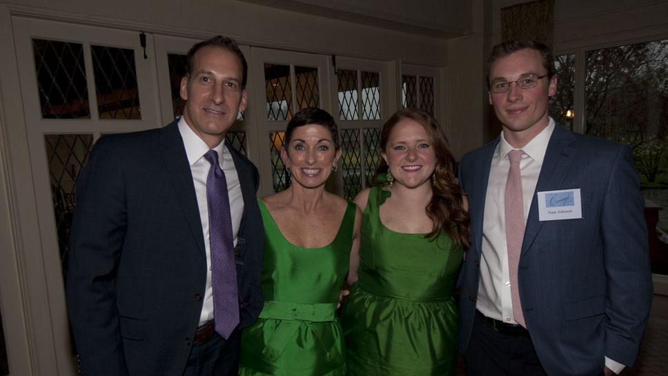Chris & Jill Renn, Margo Oelerich, Nate Johnson