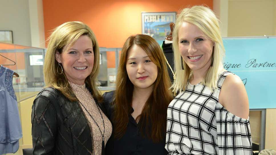 Kim Greene Hiller, Grace Yoon, Cheryl Leahy
