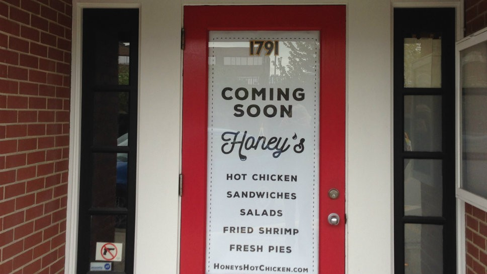 Honey's Hot Chicken Coming to HP