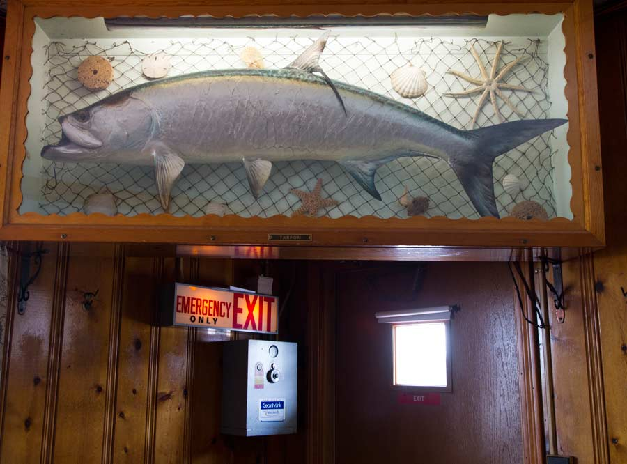 """When the sign on the front door says """"Gone Fishing,"""" it's because Charlie Beinlich's owners are doing just that. Photography by Joel Lerner/JWC Media"""