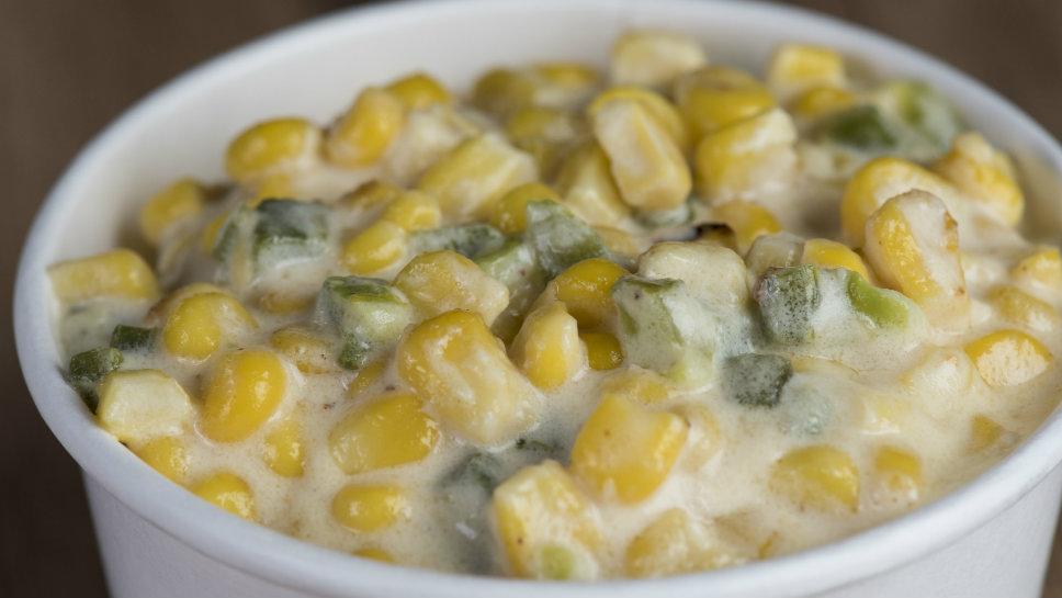 Roasted Poblano Cheesy Corn
