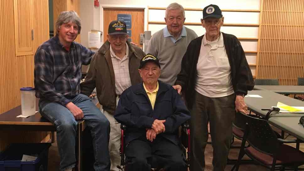 War Vets Find Strength In Numbers