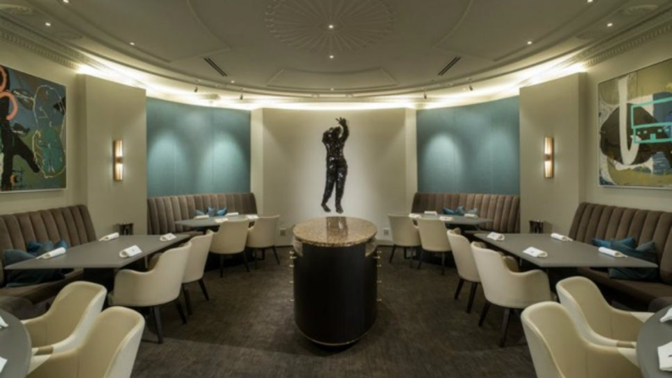 HP Sculpture Shines At Alinea