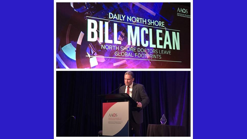 MORE Awards For Bill McLean