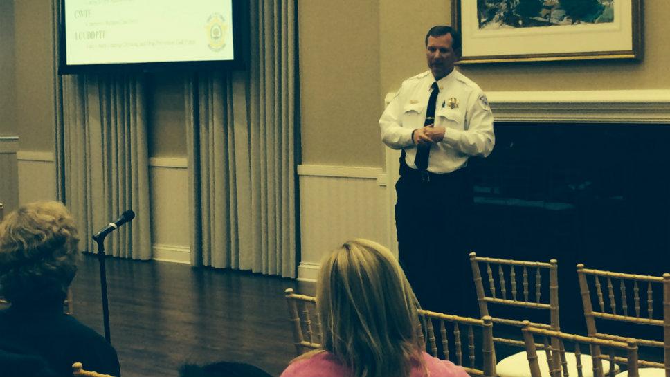 Lake Forest Police Commander Craig Lepkowski talks about substance abuse.
