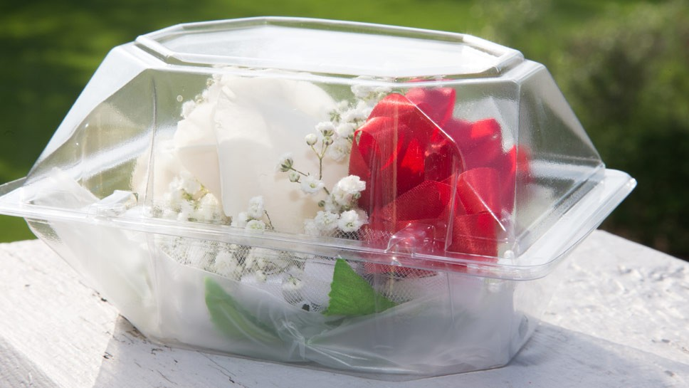 Photo of a prom corsage from the JWC Media archives.