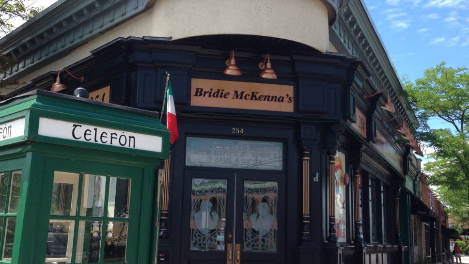 Bridie McKenna's Returns as Ginger's