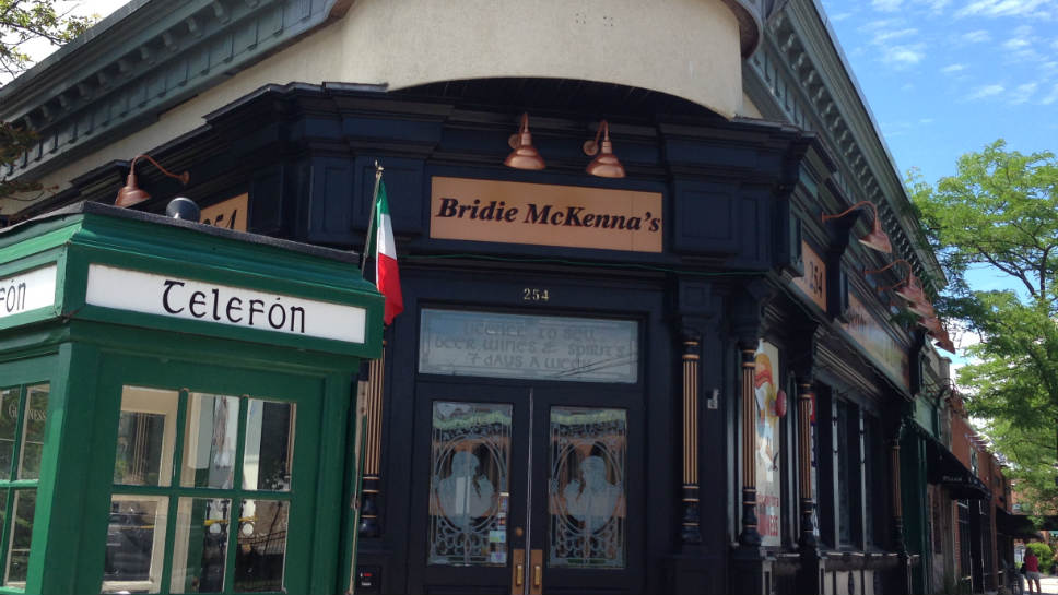 Ginger's will soon be moving into the former site that housed Bridie McKenna's.