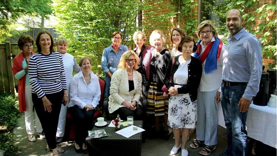 Winnetka Garden Guild members with John Eskandari