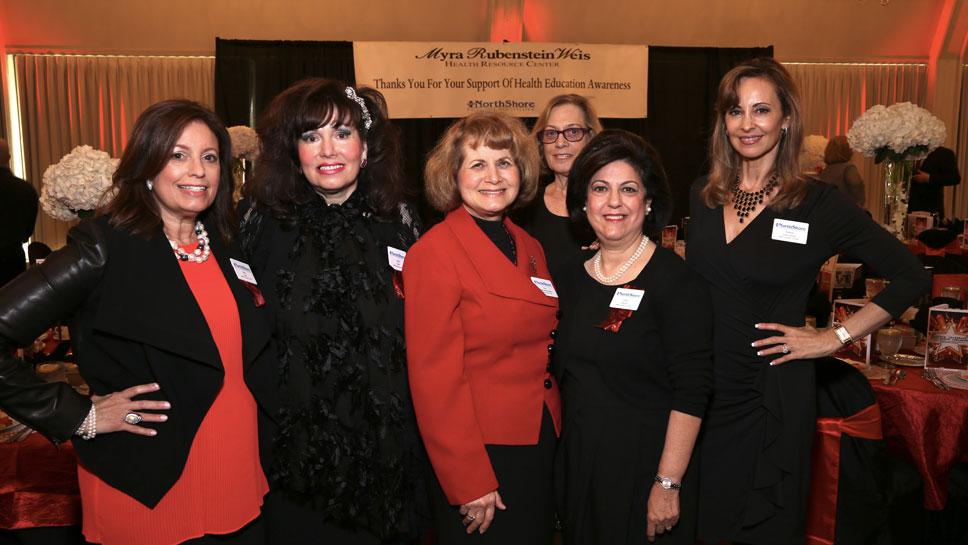 Sheri Kase, Linda Clark, Sue Masaracchia-Roberts, Cindy Marder, Ruthie Greensphan