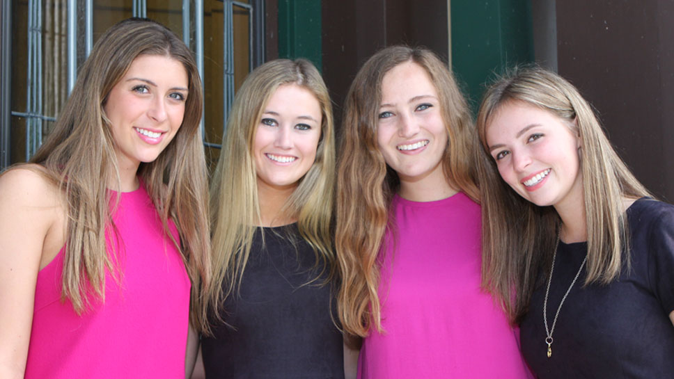 Ana Freida , Kathy Mooney, Grace Paul, Haley Hunken
