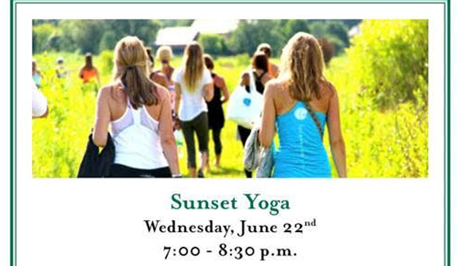 Sunset Yoga at Mellody Farm