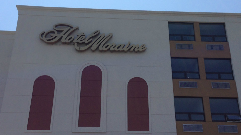 The Hotel Moraine is being converted into a senior living complex for residents ages 55 and up.