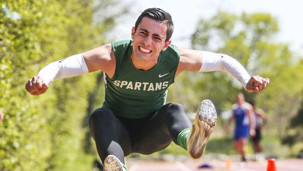 Papper: long shot to all-state long jumper