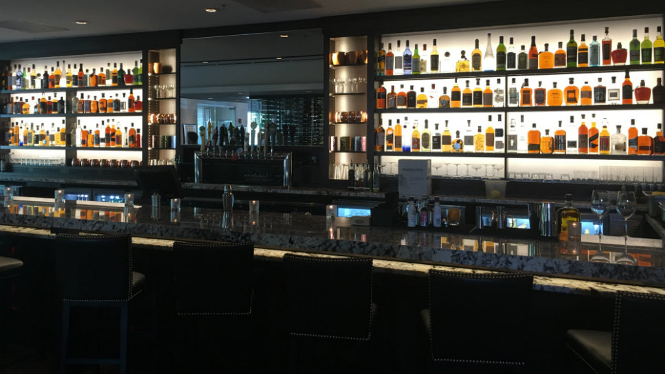 MLG Chicago offers a 30-foot bar with more than 200 alcohols and 1,000 bottles of wine. Photo courtesy of MLG Chicago.