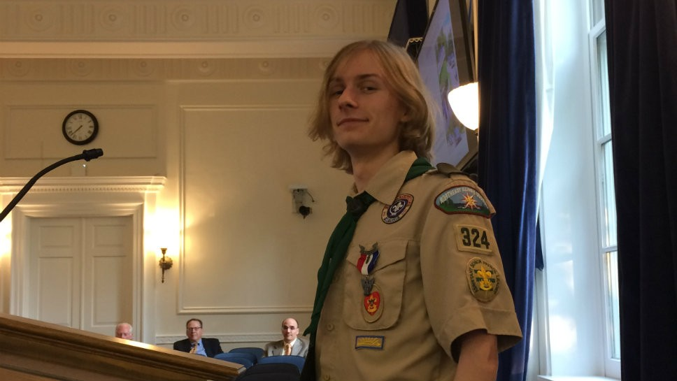 HP Graduate Makes Eagle Scout