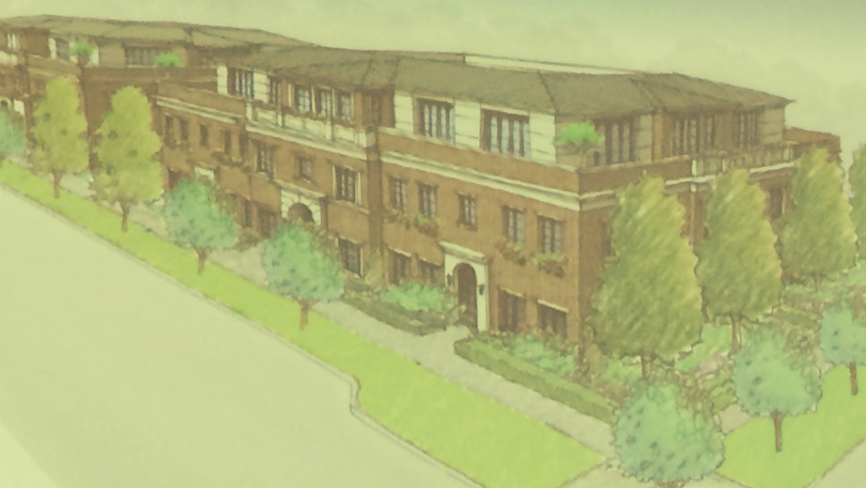 Developer Roanoke Group created a three dimensional drawing of proposed buildings on Block 3.