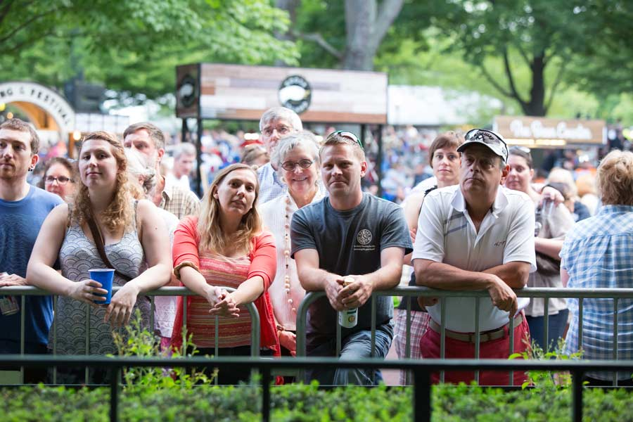 Though packed with people and picnics, the vibe at Ravinia was peaceful and calm Photography by Robin Subar/JWC Media