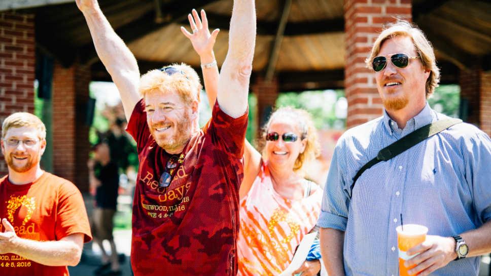 Jim Stoeker at Highwood's Redhead Days