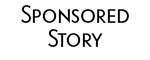 sponsored story logo black