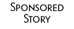 sponsored story logo black