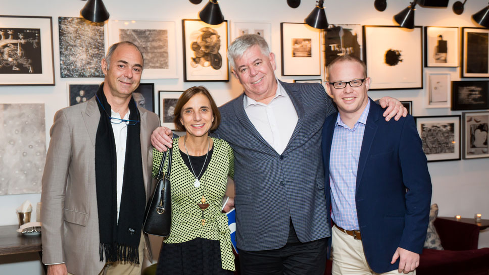 Jean-Bernard Coudon, Kathie Sikkes, Gerald Hatherly, Darren Napier