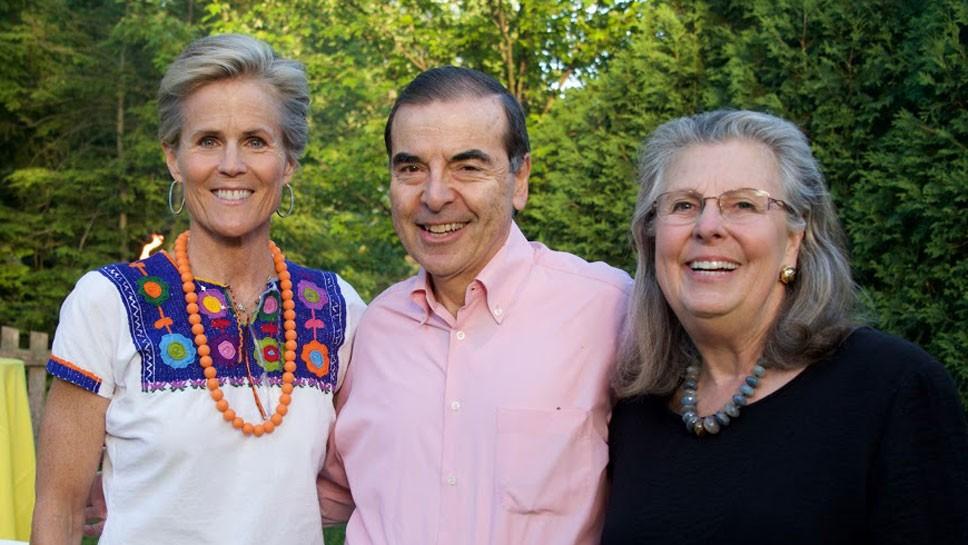 Kitty Bliss, Bill and Gail Steinmetz