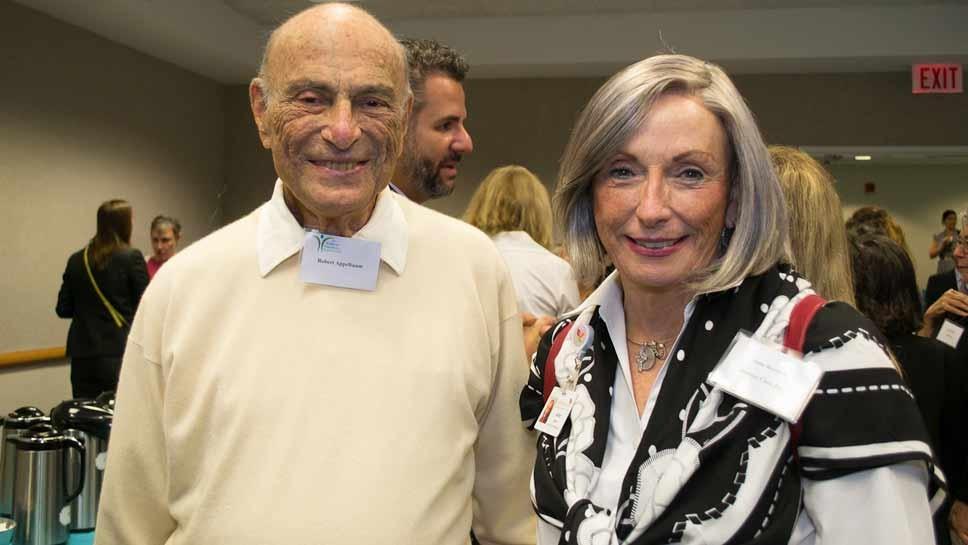 Bob Applebaum and Anne Rossiter