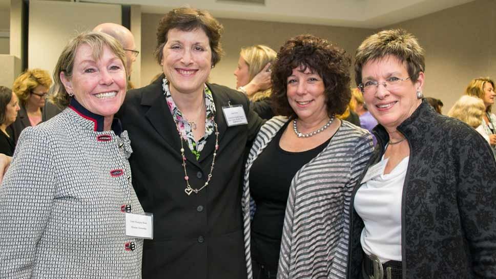 From left: Anne Flanigan Bassi, Roni Weiss, Karyn-Davidman, Kathryn Vanden Berk